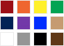 fabric color palette